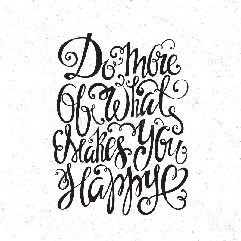 Typografiecitaat royalty-vrije illustratie