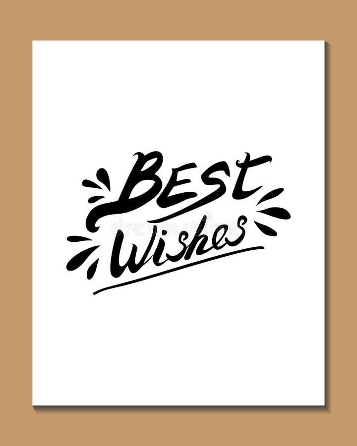 Typografieplakat lizenzfreies stockbild