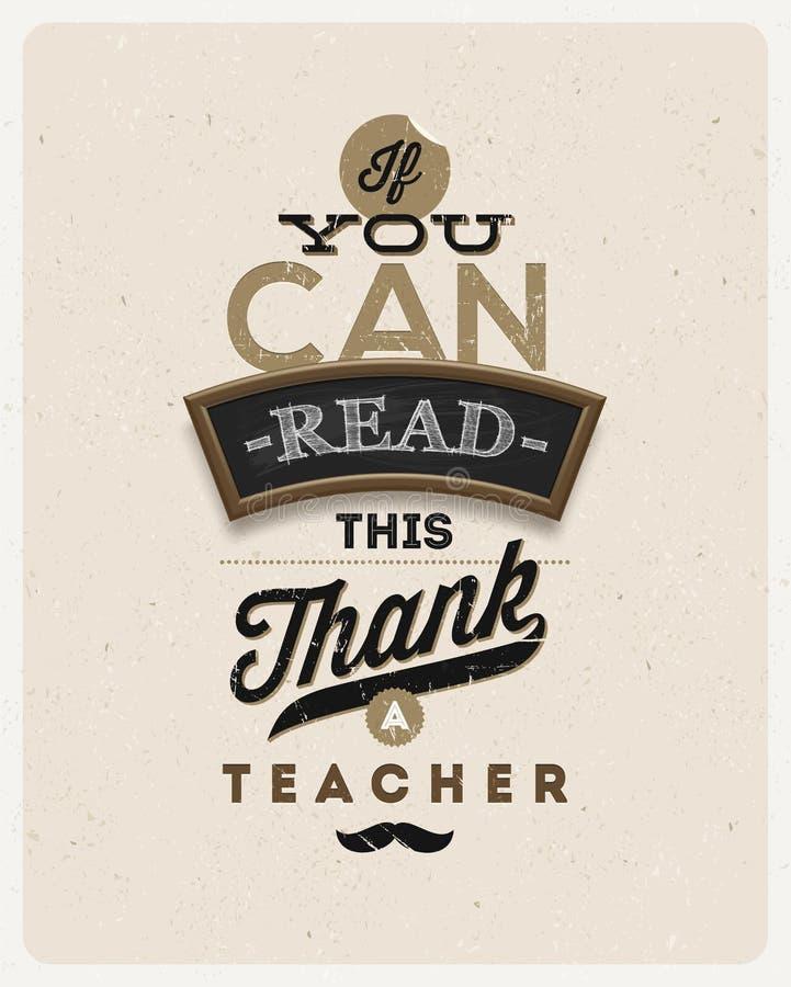 Typografisch uitstekend ontwerp vector illustratie