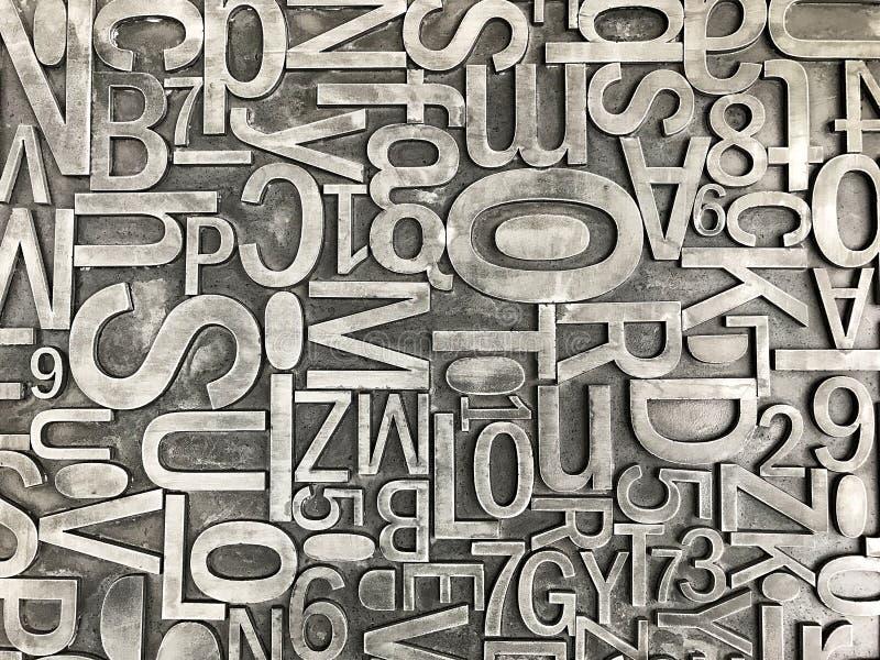 typographie stockbild
