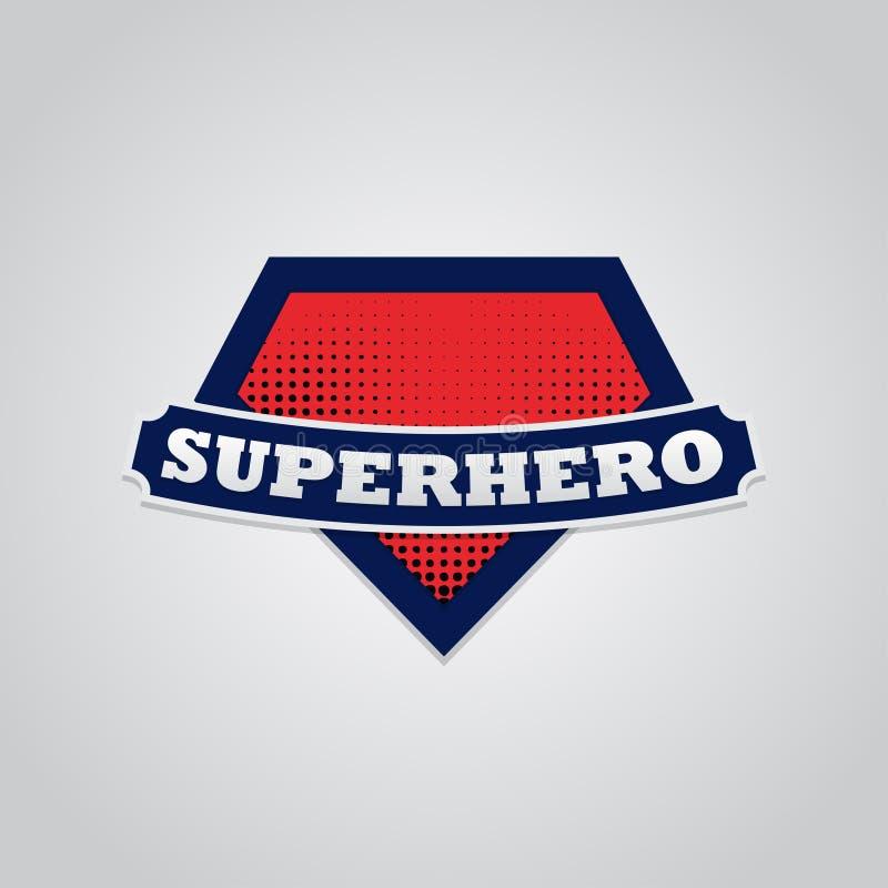 Typographie de puissance de superhéros pleine, graphiques de T-shirt, vecteurs illustration stock