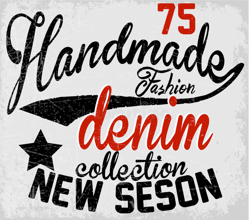 Typographie de slogans, graphiques de T-shirt, vecteurs illustration de vecteur