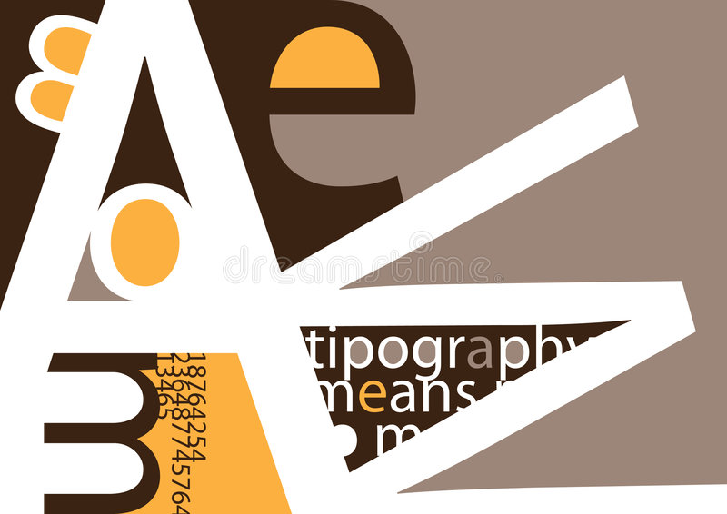 Download Typography Royalty Free Stock Photos - Image: 8283498