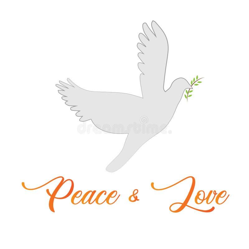 Christian faith - Peace and love stock photography