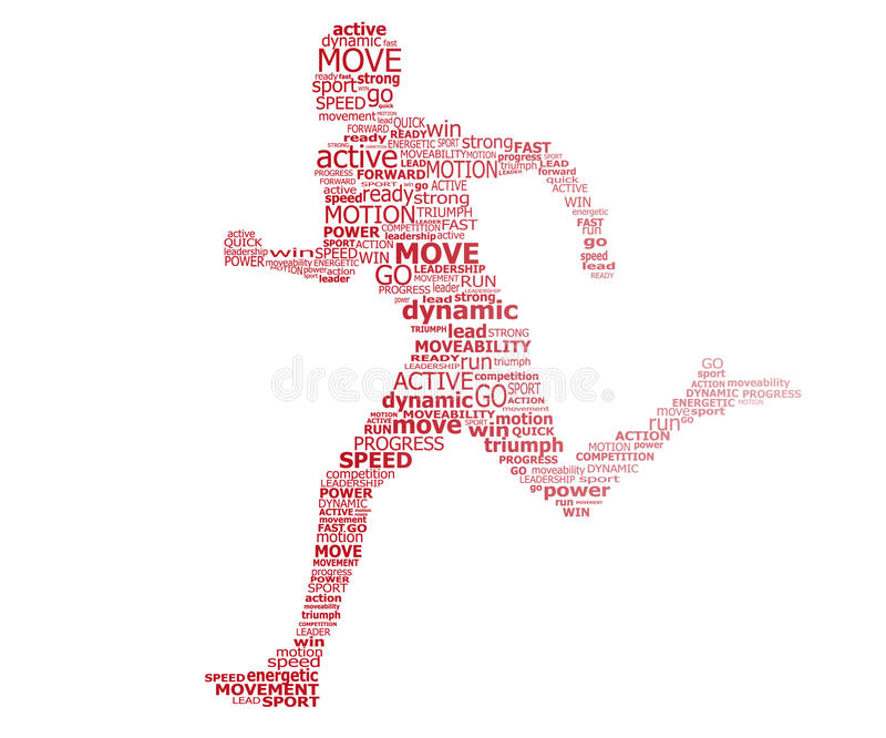 Download Typography Runner Stock Images - Image: 25427974