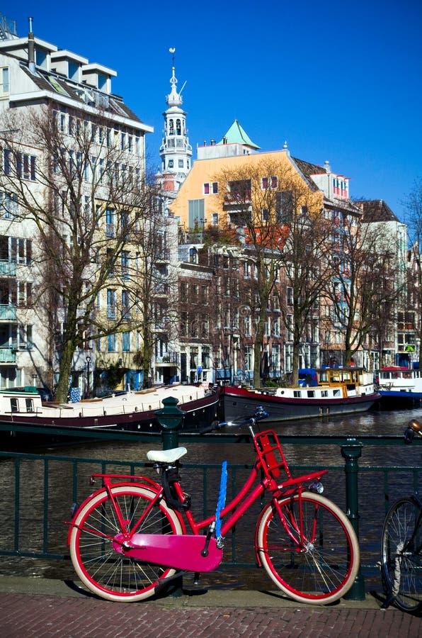 Typowy widok Amsterdam zdjęcie stock