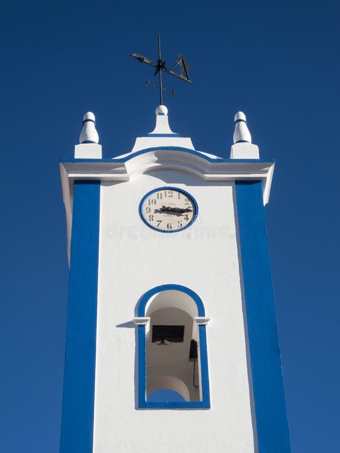 Typowa portuguese architektura w Santa Clara obraz royalty free