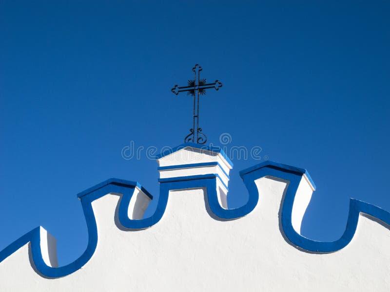 Typowa portuguese architektura w Santa Clara obrazy royalty free