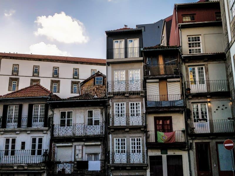 Typowi budynki Porto, w Portugalia zdjęcie stock