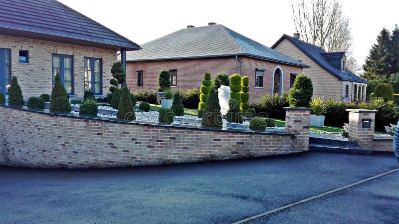 Typowi domy północny Europa zdjęcia stock