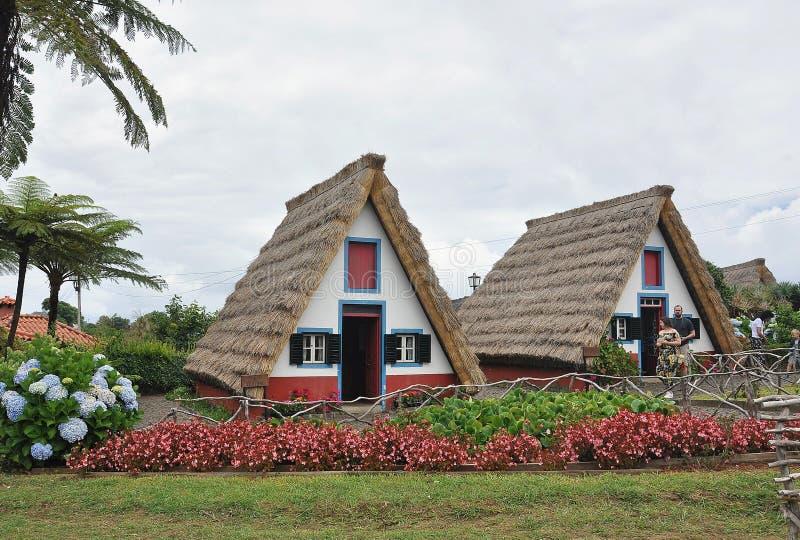 Typowi domy Santana obraz stock
