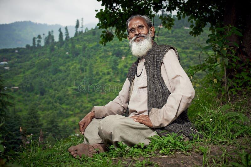 Typowi lokalni północni hinduscy mężczyzna obraz royalty free