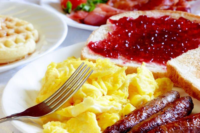 typowy śniadanie zdjęcie royalty free