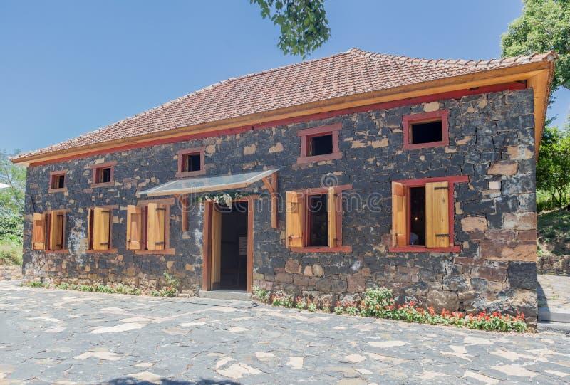 Typowy Domowy Bento Goncalves Brazylia zdjęcie royalty free
