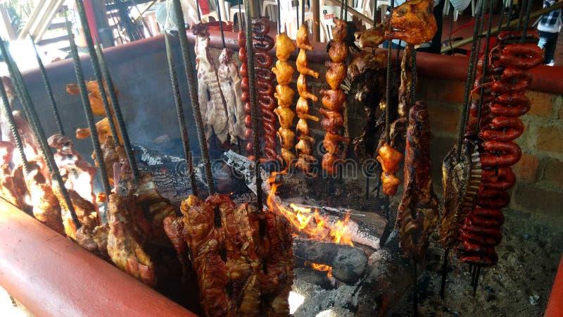 Typowy Meksykański grill obraz stock