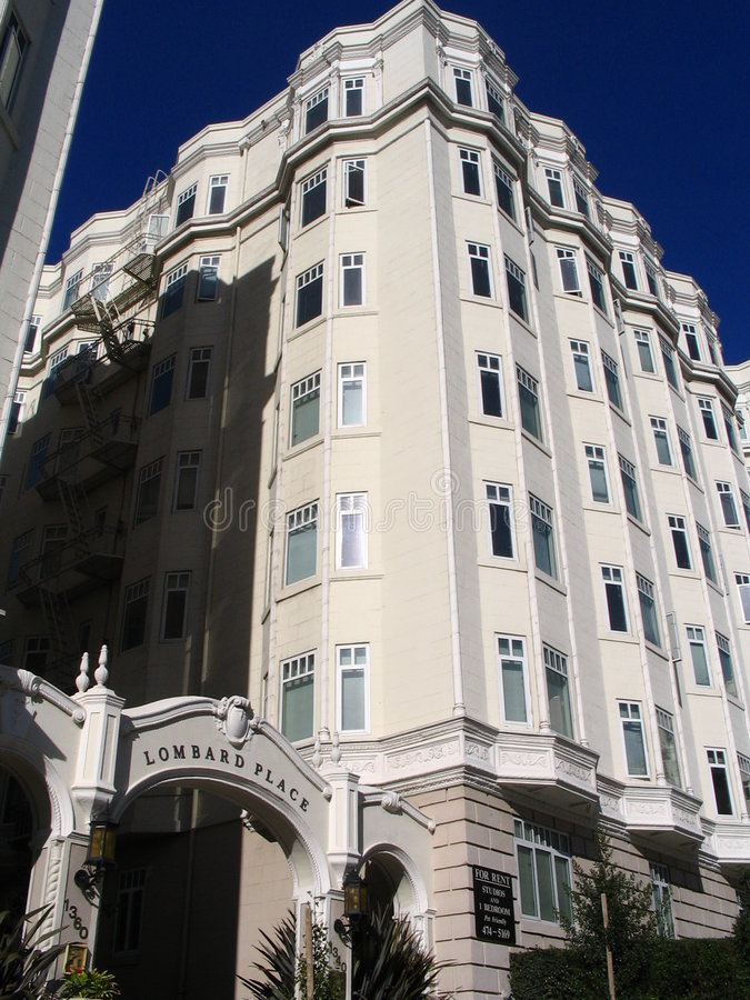 typowy San Francisco budynek obrazy royalty free