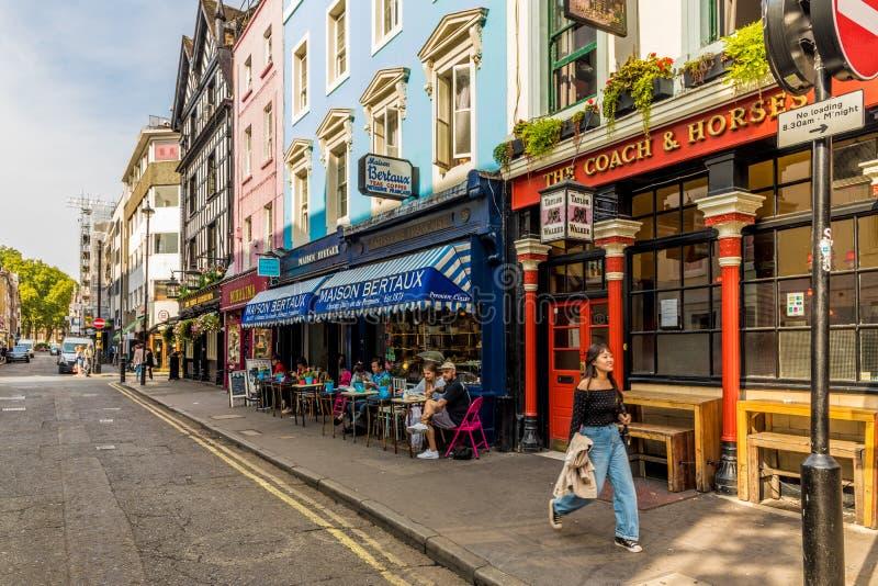 Typowy widok w London obraz stock