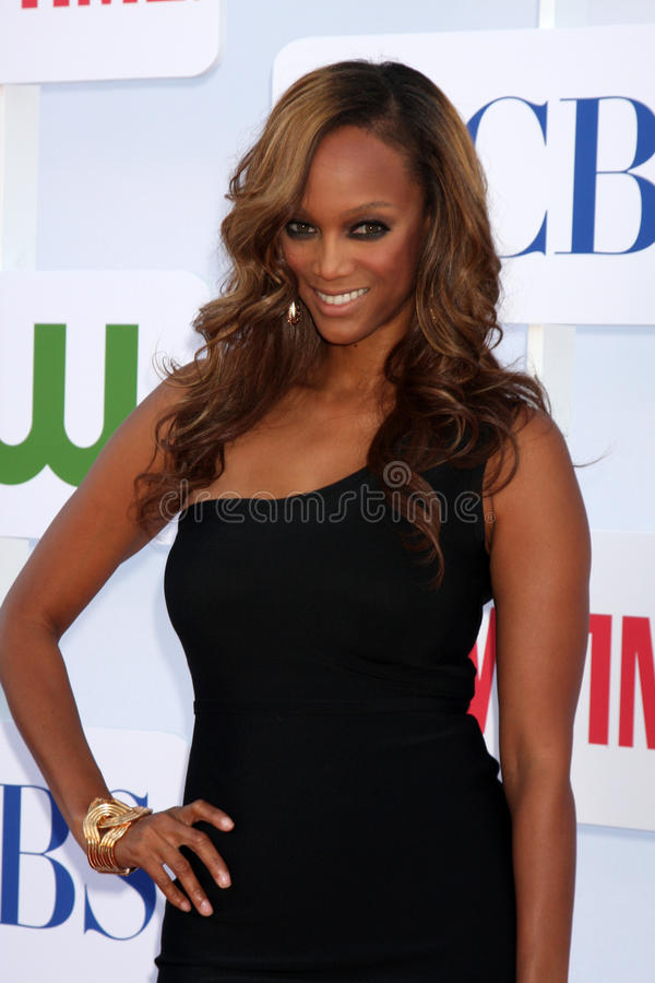 Download Tyra Banks editorial stock image. Image of showtime, july - 26286609