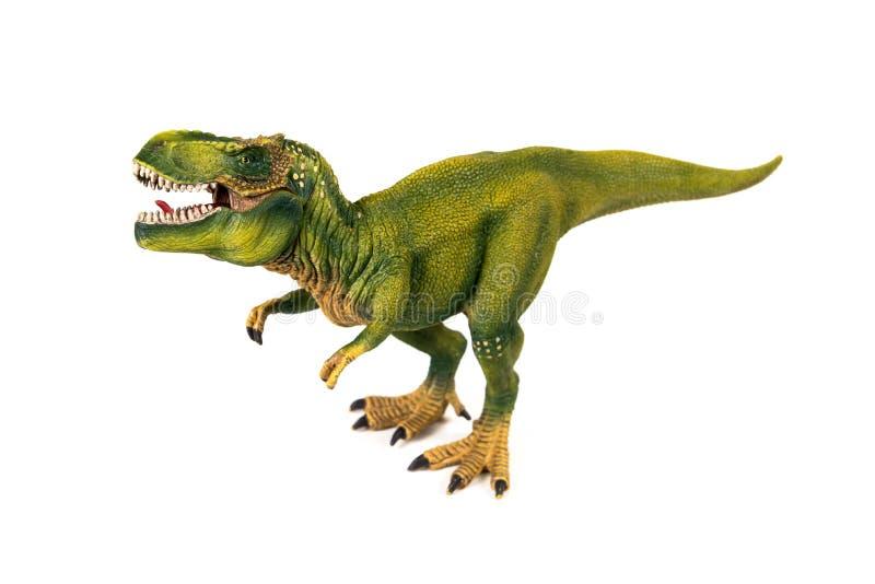 Tyrannosaur dinosaur plastic model royalty free stock photos