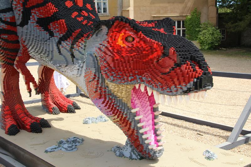 Tyrannosaure Rex Dinosaur Model photos libres de droits