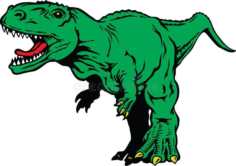 Tyrannosaure Rex Illustration illustration de vecteur