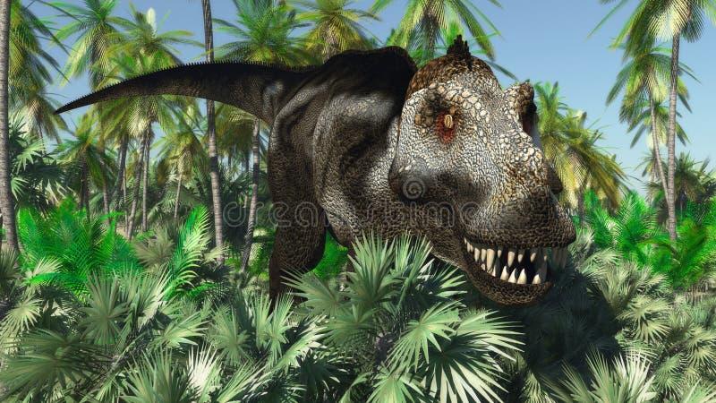 tyrannosaurus stock abbildung
