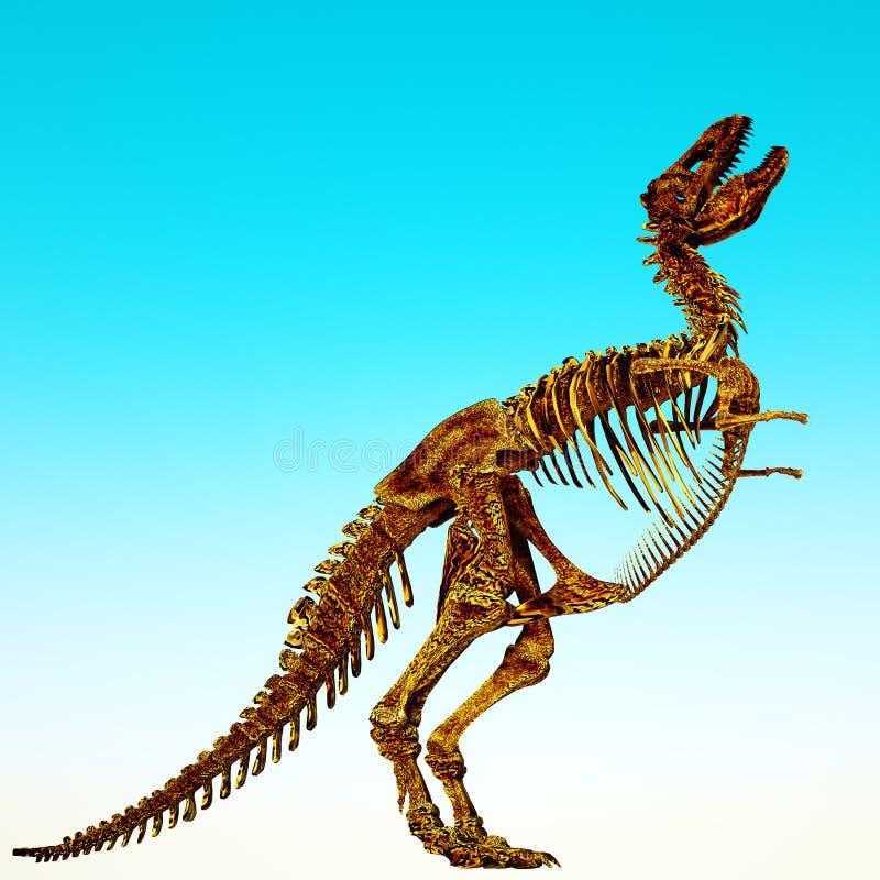 Download Tyrannosaurus stock illustration. Illustration of tyrannosaurus - 20043257