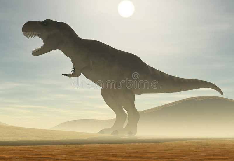Tyrannosaurus illustrazione vettoriale