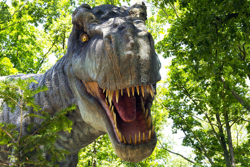 Tyrannosaurus fotografia stock