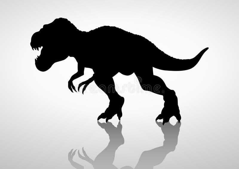 tyrannosaurus ilustración del vector