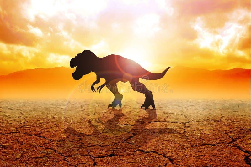 tyrannosaurus ilustracja wektor