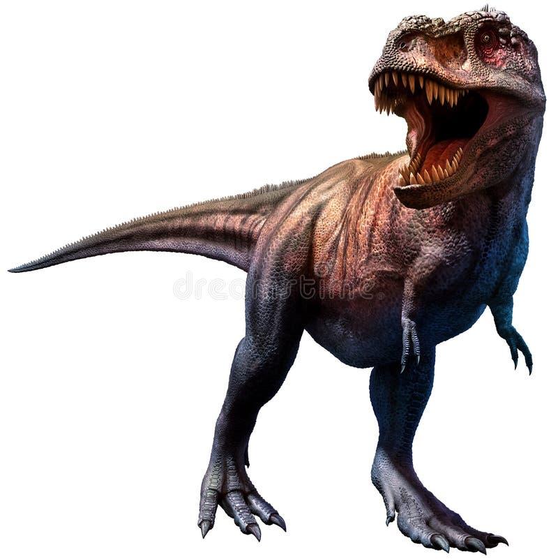 tyrannosaurus royaltyfri illustrationer