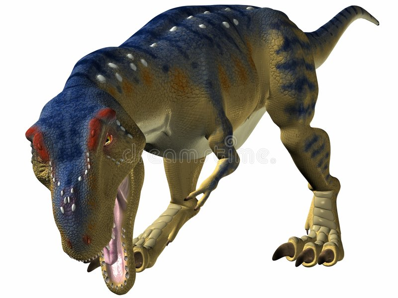 Tyrannosaurus-Bissen vektor abbildung