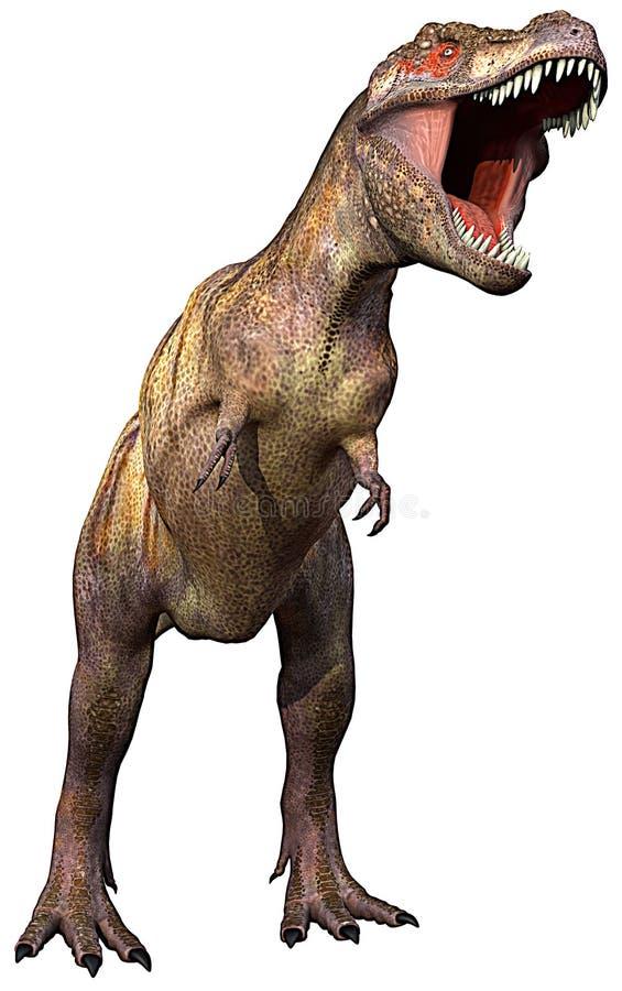Tyrannosaurus completamente ilustração royalty free