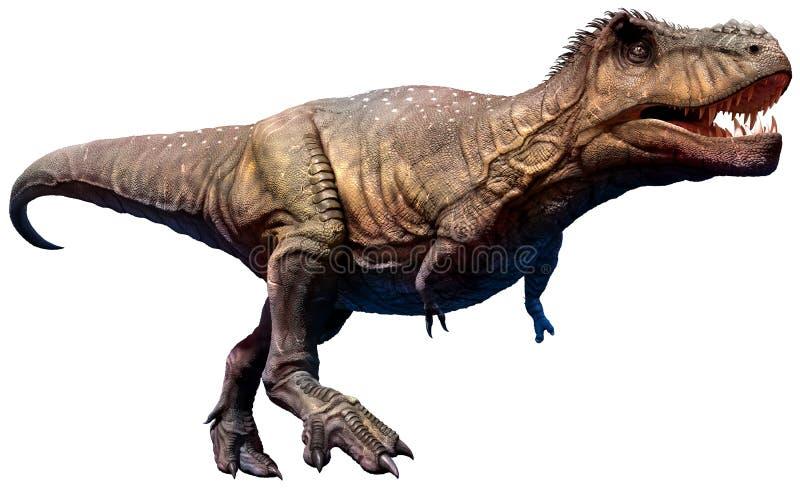 Tyrannosaurus dinosaura 3D ilustracja ilustracji