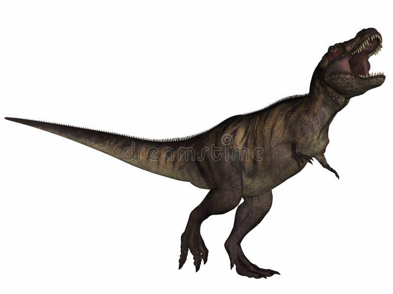 Tyrannosaurus Rex- 3D Dinosaur Stock Photography