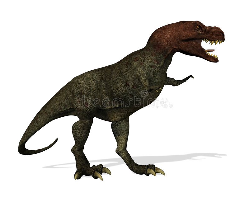 Download Tyrannosaurus Rex stock illustration. Image of frightening - 4079242