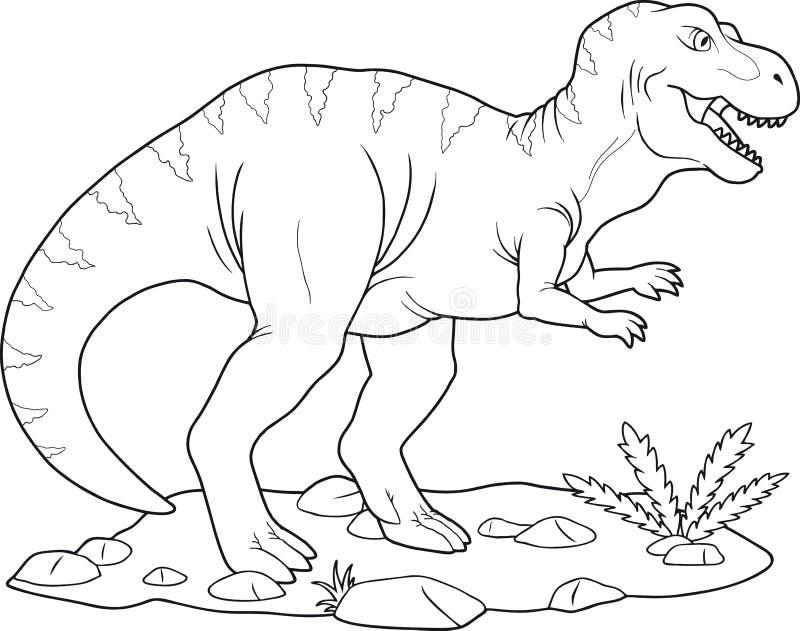 Tyrannosaurus Rex royalty ilustracja