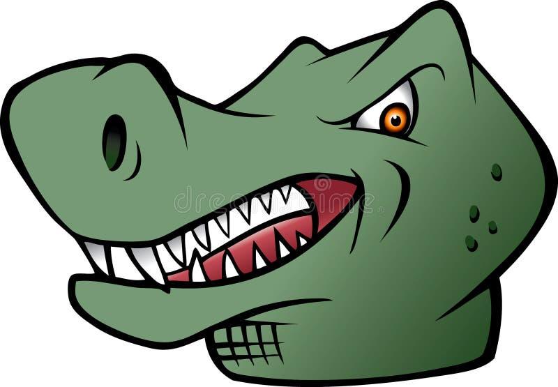 Download Tyrannosaurus Rex dinosaur stock vector. Image of roar - 12955961