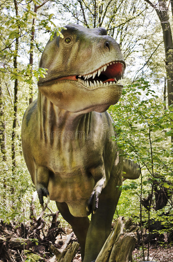 Download Tyrannosaurus rex dinosaur stock photo. Image of jurassic - 31017914