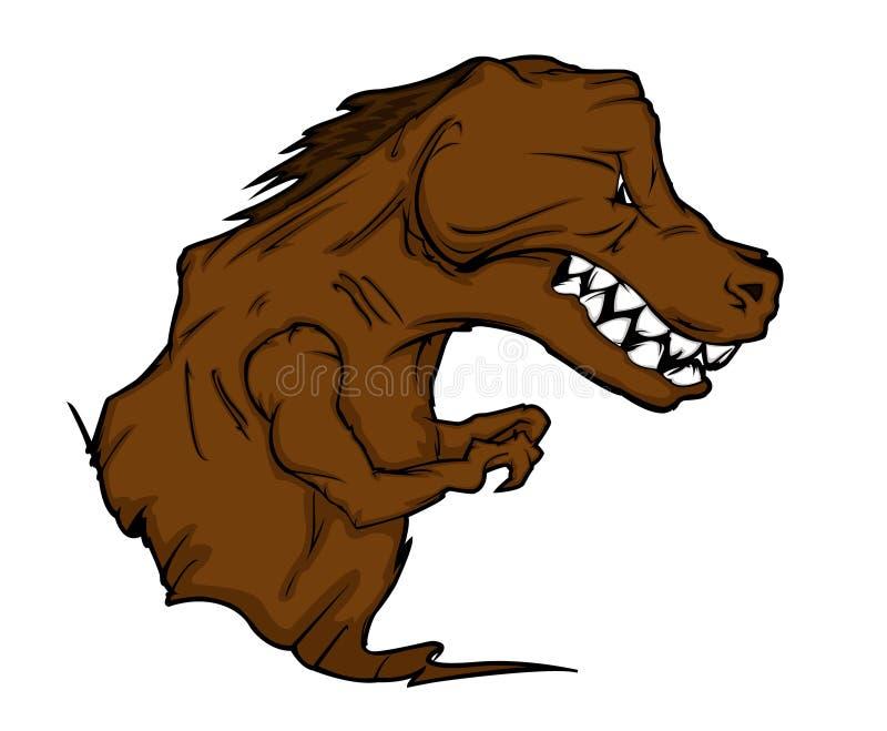 tyrannosaurus rex kreskówki royalty ilustracja