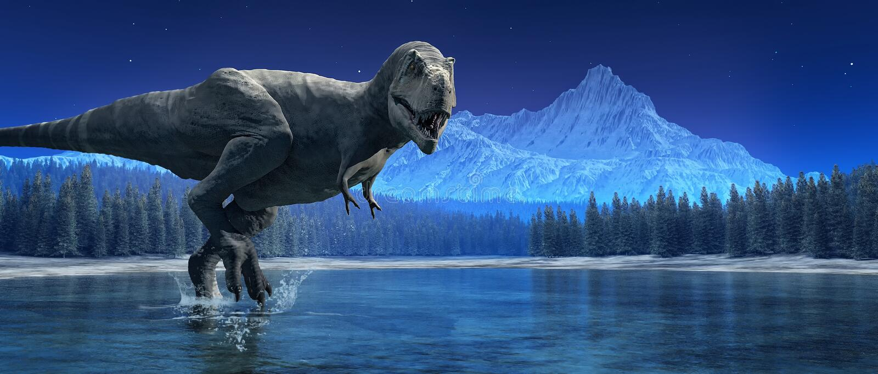 Tyrannosaurus Rex. This is a 3d render vector illustration