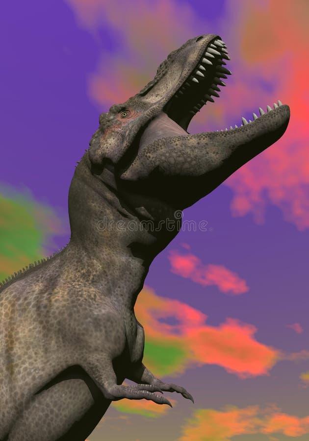 Download Tyrannosaurus Shouting - 3D Render Royalty Free Stock Images - Image: 29153759