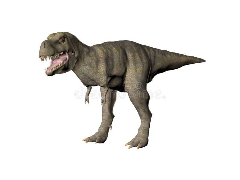 Tyrannosaurussen Rex vector illustratie