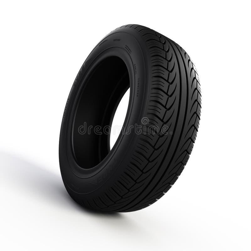 Tyre. Isolated on white background royalty free illustration
