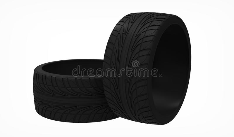 Download The tyre stock illustration. Image of road, different - 19617224