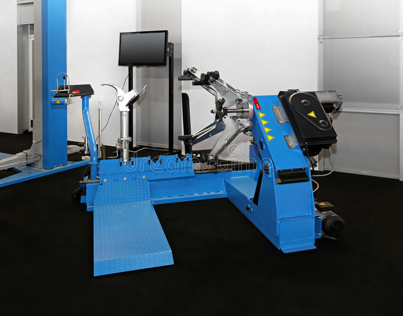 Download Tyre changer stock photo. Image of equipment, tool, tyre - 26235956