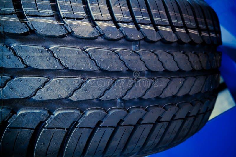 Tyre Close Up Royalty Free Stock Photos