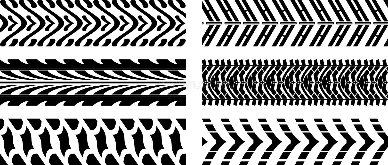 Download Tyre pattern stock vector. Illustration of imprints, motor - 28603683
