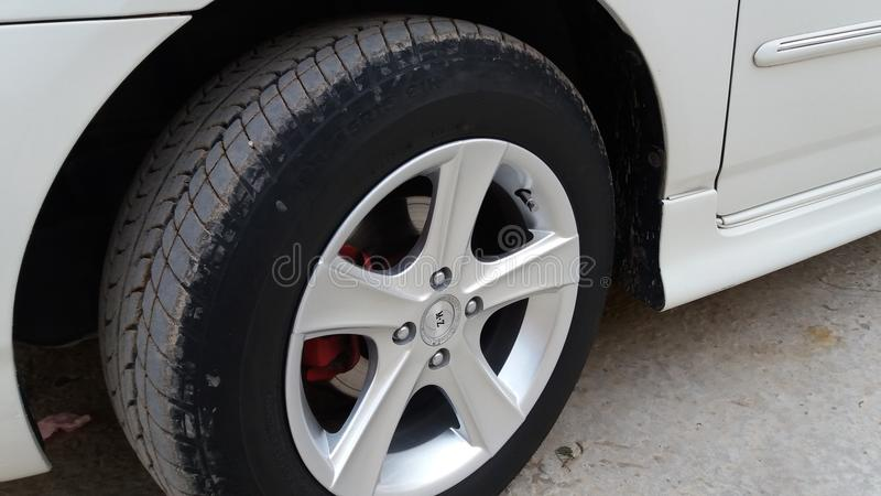 A tyre picture. With high quality wheels stock images